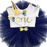 Unicorn Magic Collection 1st & 2nd Birthday Outfits (Multiple Colours Available) Handmade Tutus | Stinky Bunny Affordable Trendy Toddler Fashion