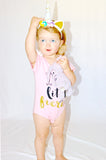 She is Fierce Onesies | Stinky Bunny Affordable Trendy Toddler Fashion