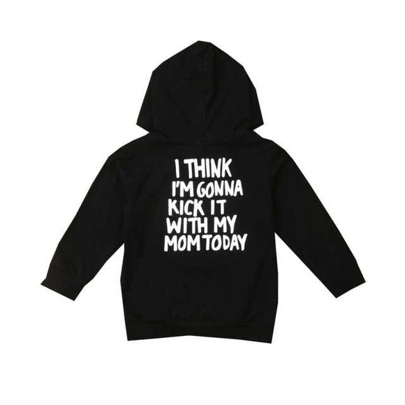 Kick it with my Mom-Shirts-[Calgary]-[Alberta]-[Canada]-[Affordable Children's Clothing]-Stinky Bunny