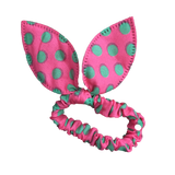 Handmade Bunny Ear Ruffles (multiple patterns)-Hair Clips-[Calgary]-[Alberta]-[Canada]-[Affordable Children's Clothing]-Stinky Bunny