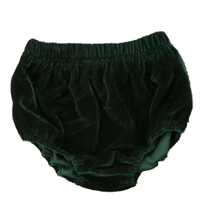 Velvet Bloomers - Forest Green