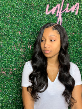 Natural 4x4 Closure Wig