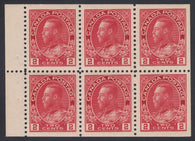 0106CA1806 - Canada #106a Mint Booklet Pane of 6