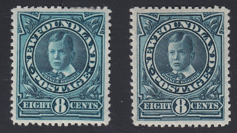 0110NF1806 - Newfoundland #110, 110a - Mint Set