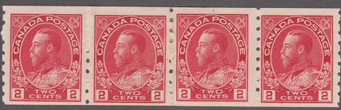 0127CA1807 - Canada #127i Mint Paste-up Strip of 4