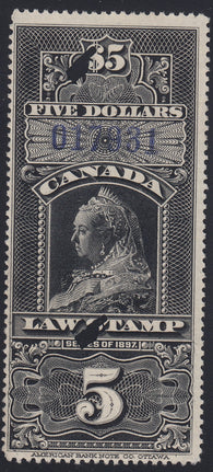 0012SC1712 - FSC12 - Used - Deveney Stamps Ltd. Canadian Stamps