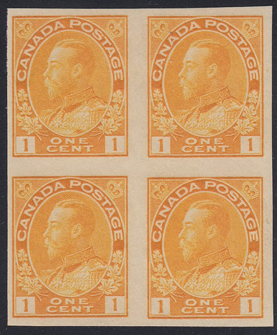 0136CA1805 - Canada #136 Mint Imperf Block of 4