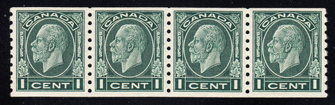 0205CA1708 - Canada #205 Strip of 4
