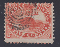 0015CA1709 - Canada #15v - Used Major Re-Entry