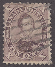 0017CA1801 - Canada #17iii - Used Major Re-entry