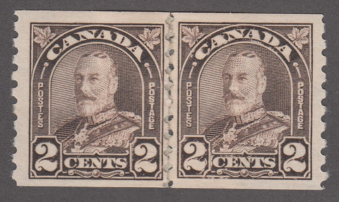 0182CA1807 - Canada #182 Mint Pair - Post Office Repair