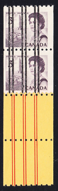 0466CA1708 - Canada #466xxi Mint Precancelled Start Pair