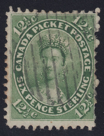 0018CA1712 - Canada #18iv - Used Major Re-Entry