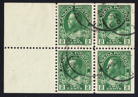 0107CA1708 - Canada #107b - Used Booklet Pane