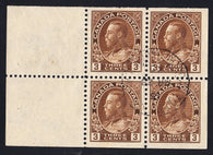 0108CA1708 - Canada #108a - Used Booklet Pane