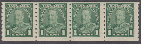 0228CA1805 - Canada #228ii Mint Strip of 4
