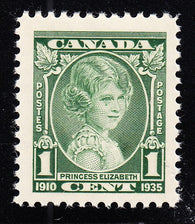 0211CA1708 - Canada #211i - Mint 'Weeping Princess'