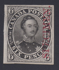 0002CA1712 - Canada #2TCix - Mint Plate Proof - Deveney Stamps Ltd. Canadian Stamps
