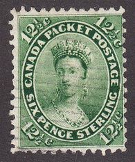 0018CA1708 - Canada #18iv - Used Major Re-Entry
