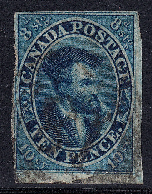 0007CA1707 - Canada #7 - Deveney Stamps Ltd. Canadian Stamps