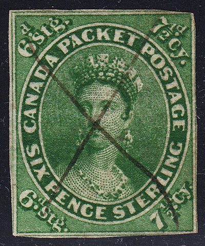 0009CA1707 - Canada #9a - Deveney Stamps Ltd. Canadian Stamps