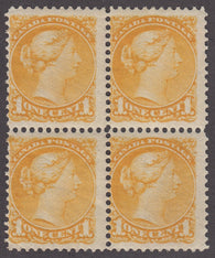 0035CA1712 - Canada #35 Mint Block of 4