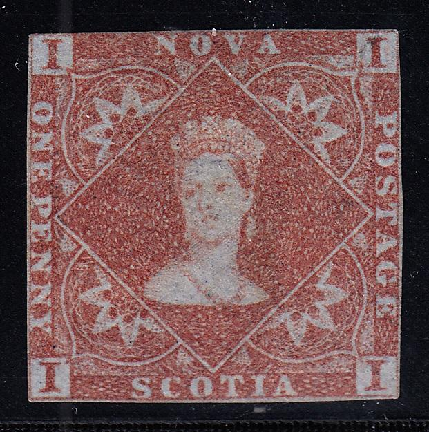 0001NS1708 - Nova Scotia #1 - Mint - Deveney Stamps Ltd. Canadian Stamps