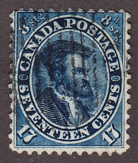 0019CA1708 - Canada #19ii - Used Major Re-Entry