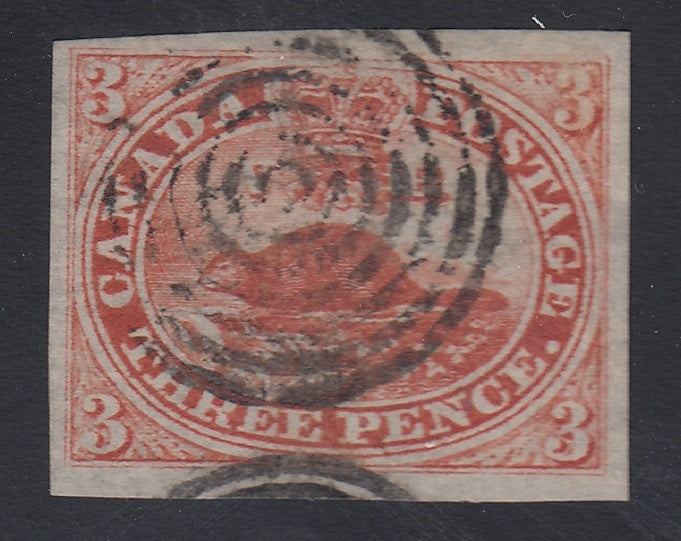 0004CA1707 - Canada #4d Used - Deveney Stamps Ltd. Canadian Stamps