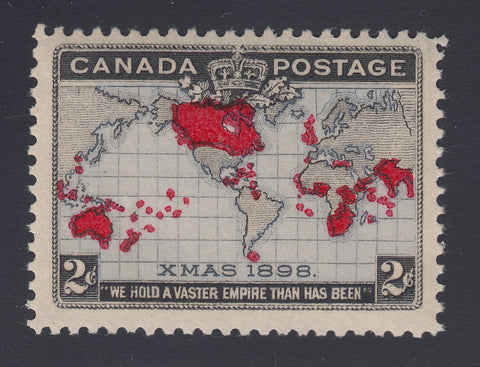 0085CA1805 - Canada #85 - Mint, Major Re-entry