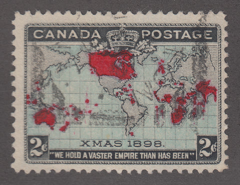 0085CA1805 - Canada #85 Used, Major Re-entry