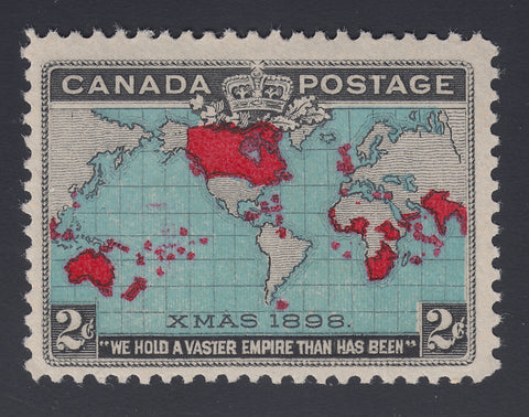 0086CA1805 - Canada #86 - Mint, Major Re-entry
