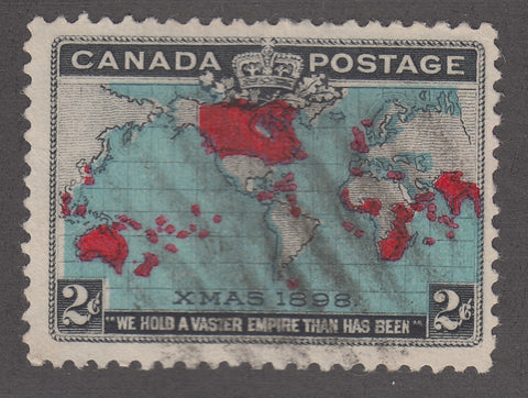 0086CA1805 - Canada #86 - Used, Major Re-entry
