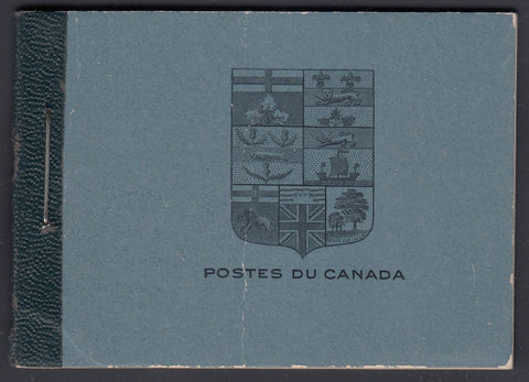 0105CA1805 - Canada BK9 - Complete FRENCH Booklet - 105a, 107b & 108a