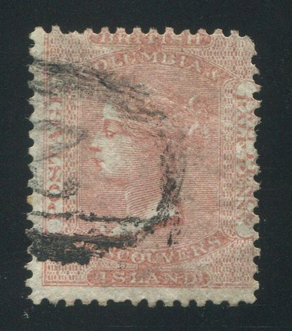 0002BC1709 - British Columbia #2 - Used Numeral Cancel '2' - Deveney Stamps Ltd. Canadian Stamps