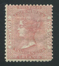 0002BC1709 - British Columbia #2a - Mint - Deveney Stamps Ltd. Canadian Stamps