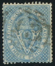 0007BC1910 - British Columbia #7a - Used