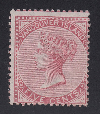 0005BC1711 - British Columbia #5 - Mint - Deveney Stamps Ltd. Canadian Stamps
