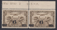 0003CA1802 - Canada C3i - Mint Plate Pair, 'Swollen Breast' Variety