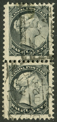 0034CA2006 - Canada #34 - Used Pair, Re-Entries