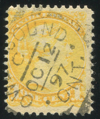 0035CA2003 - Canada #35viii - Used 'Strand of Hair' Variety