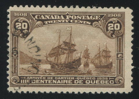 0103CA1710 - Canada #103 - Used Minor Re-Entry