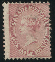 0011CA1906 - Canada #11ii - Used Major Re-Entry