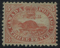0012CA1708 - Canada #12 - Deveney Stamps Ltd. Canadian Stamps
