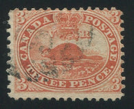 0012CA1709 - Canada #12 - Deveney Stamps Ltd. Canadian Stamps