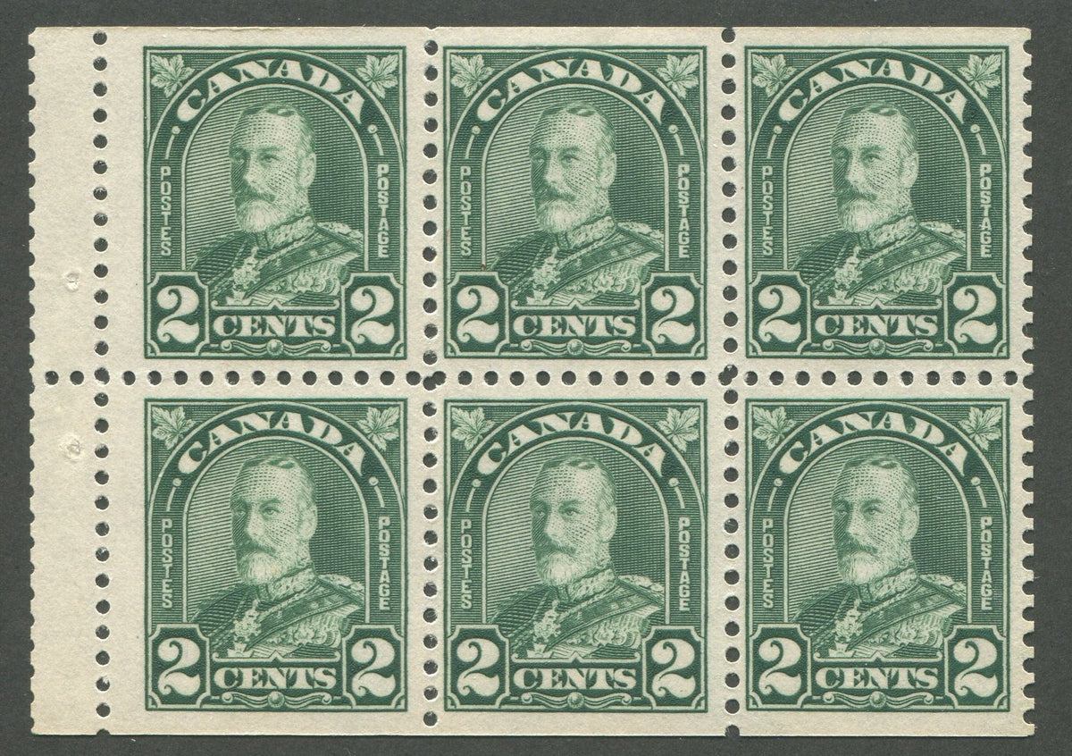 0164CA1708 - Canada #164aiv - Mint Booklet Pane
