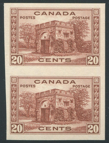 0243CA1906 - Canada #243a - Mint Imperf Pair