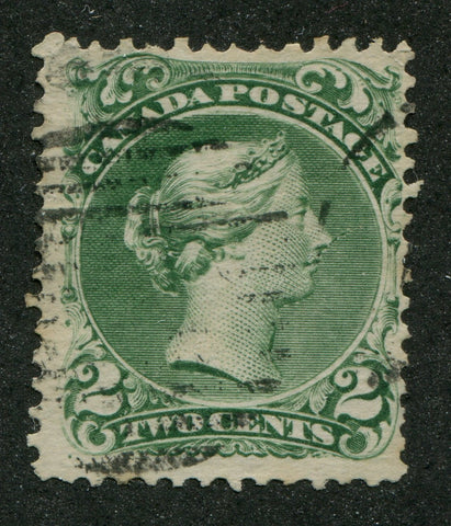 0024CA1708 - Canada #24vii - Used, 'Needle Nose' Variety
