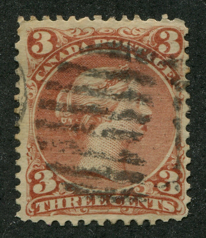 0025CA1708 - Canada #25iv - Used, 'Goatee' Variety