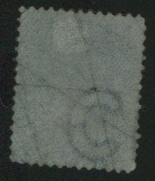 0028CA1710 - Canada #28a - Used, Watermarked Bothwell Paper
